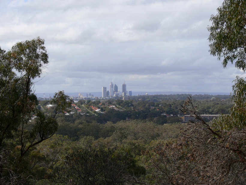Perth city viewed from Bold Park CC BY-SA 2.0 FCB Excalibur