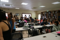 UPF and UCB students mingling!