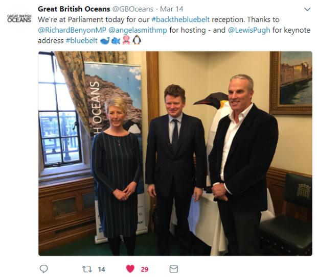 GBO parliament tweet